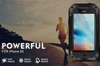 Luxury Metal Aluminum Case Cover Capa For Coque IPhone 5 5s SE Waterproof Shockproof Life Gorilla
