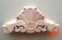 Wood Dongyang Wood Carving Fashion Wood Applique Gate Flower Wood Shavings Carved Furniture Flower Bed 30