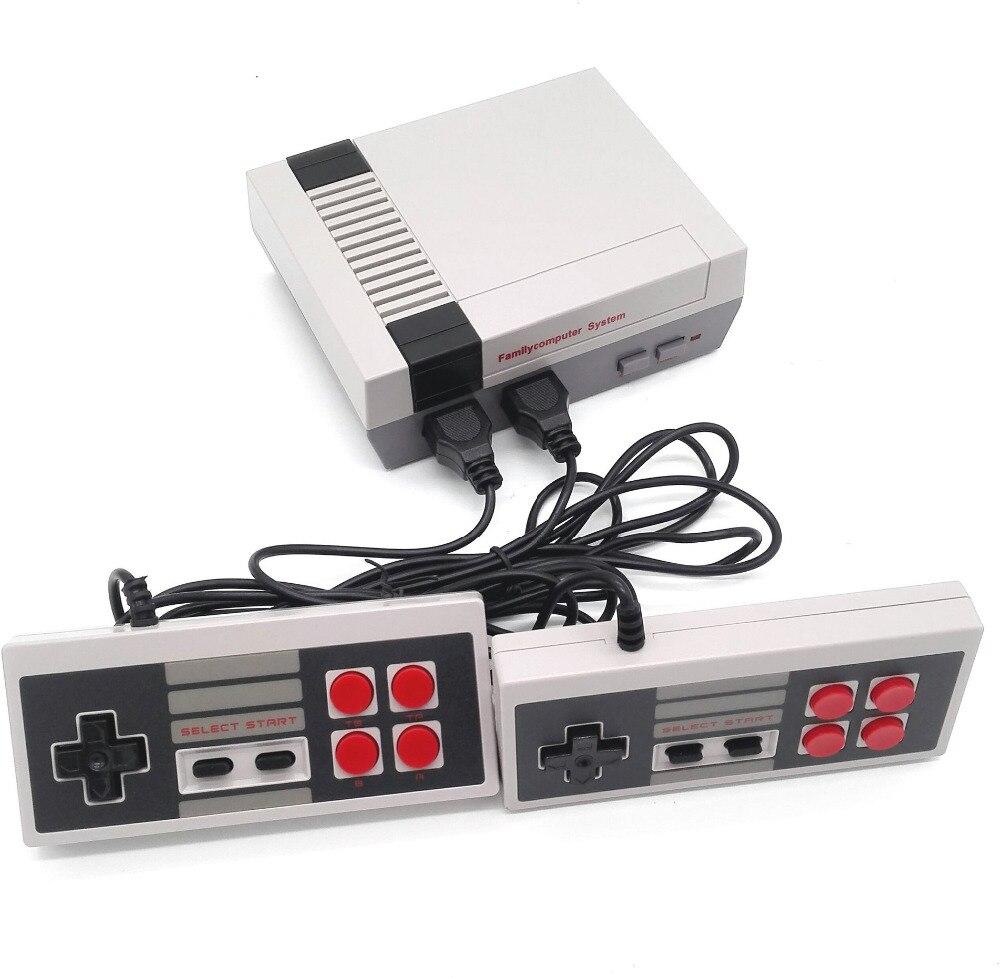 AV Port Mini Handheld Retro Classic Game Spieler Familie TV Videospielkonsole Kindheit Dual Gamepad Komplett mit 620 Spiele