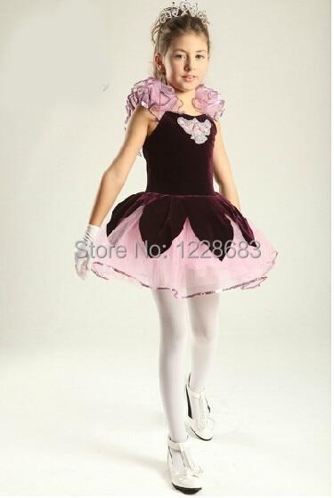 Free Shipping Dance Wear Ballerina Dress Girls Ballet