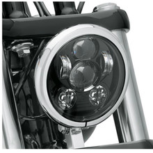 Marloo 5-3/4 5.75 LED Headlight For Motorcycle Harley Sportster 883 Iron Street Bob Nightster Night Rod Dyna Projector 45W