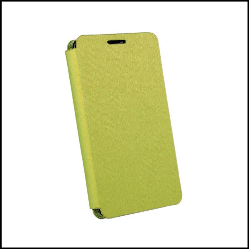 Soporte del tirón de cuero delgado caso de la cubierta para nokia lumia 520 acce