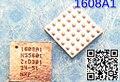 5 unids/lote para iphone 5 5g usb de carga de control ic 36 pin ic cbtl1608a1 u2 1608a1