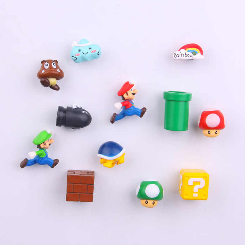 Super Mario Prinses Koelkast Magneet Tv Fc Jeugd Game Japan Cartoon Gaming Cartoon 3D Paster Diepvriesvak Sticker Gift
