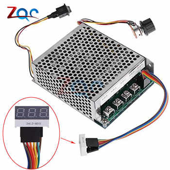 Digital Display 0~100% adjustable 10-55V 60A DC Motor Speed Controller PWM 12V 24V 48V 2000W MAX 100A Reversible Potentiometer - DISCOUNT ITEM  10% OFF All Category