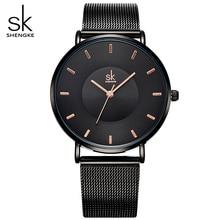 Black Ultra thin Women Fashion Quartz Watches Elegant Dress Ladies Watch 2017 New Relojes Mujer Quartz-watch Clock Wristwatches