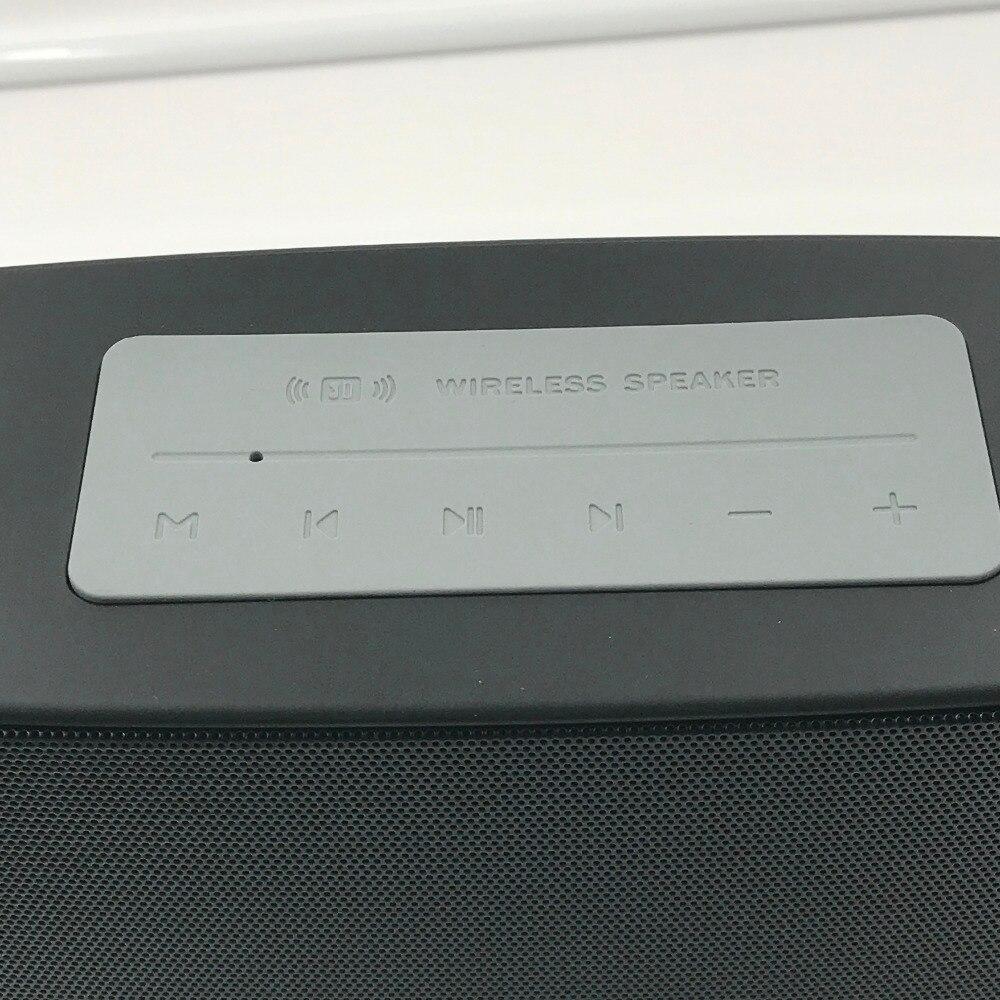 Klassische Drahtlose Lautsprecher Bluetooth Lautsprecher Super Bass LED Zeit 15W X 2 Surround Sound Hohe Qualität Mit Aux - 2