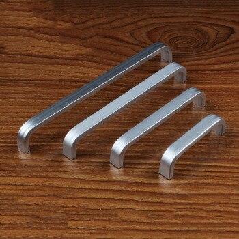 1PC Aluminum Long Knob Cabinet Furniture Door  1