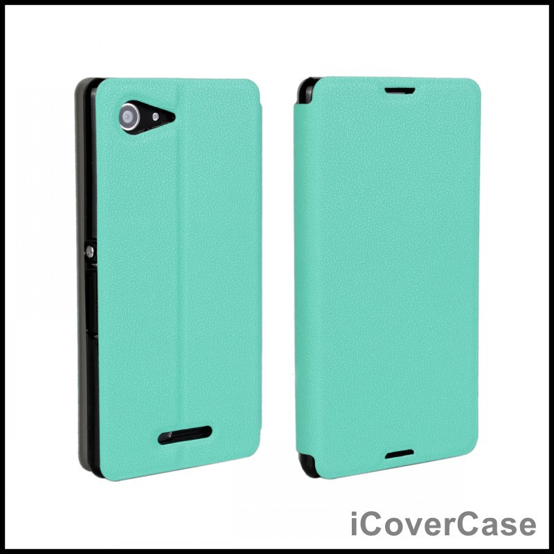 quality design 133ae d295f US $2.94 30% OFF|Case for Sony Xperia E3 Flip Cover Leather Wallet for Sony  Xperia E3 Dual D2212 Phone Cases D2203 D2206 Fundas Capa Coque Shell-in ...