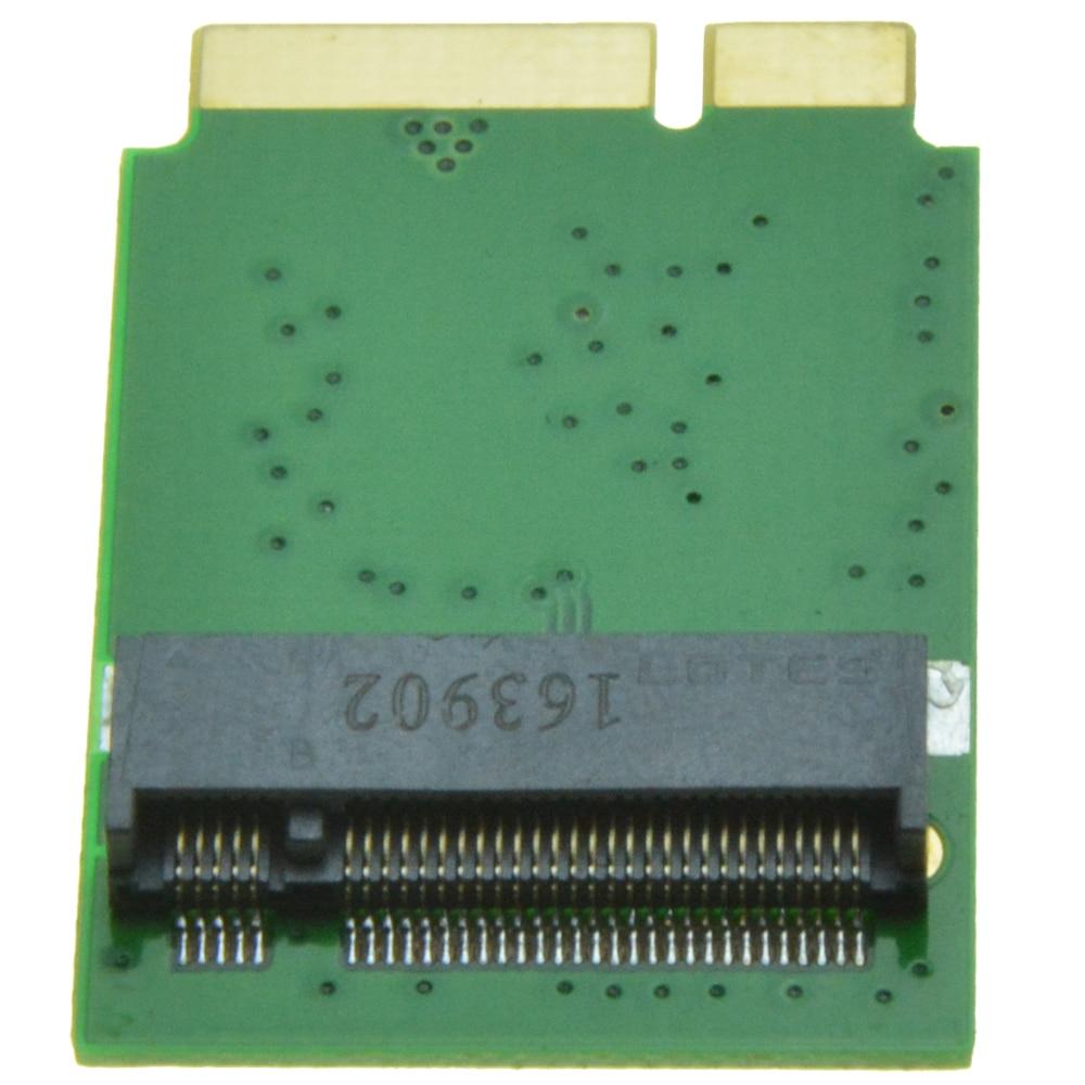 B key M.2 SATA SSD Adapter as SSD for 2012 MACBOOK Air  A1465 A1466 B+M Key NGFF for Samsung 850 EVO PM871 4