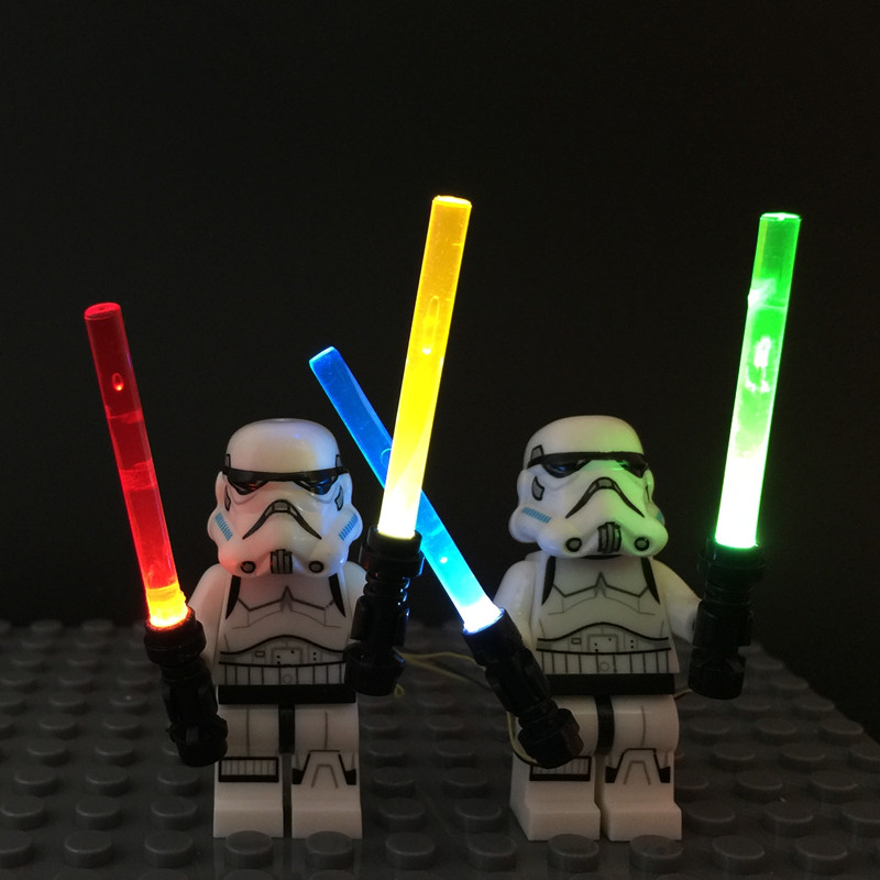 aliexpress : buy led light up kit 4 in1 lightsaber for lego