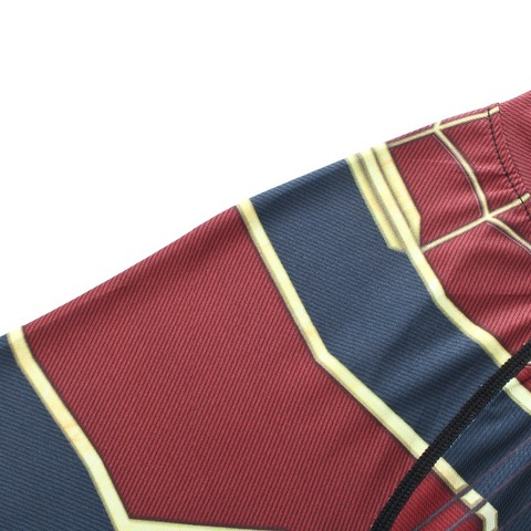 new 3D Iron Spiderman T-shirt Men Marvel Superhero Men T-Shirt Compression  Short Sleeve Brand Fitness Tops & Tees Multan