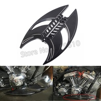 Мотоцикл с ЧПУ спереди драйвер пол доска напольные педали подножки для Harley Touring Softail Electra Street Glide Road King