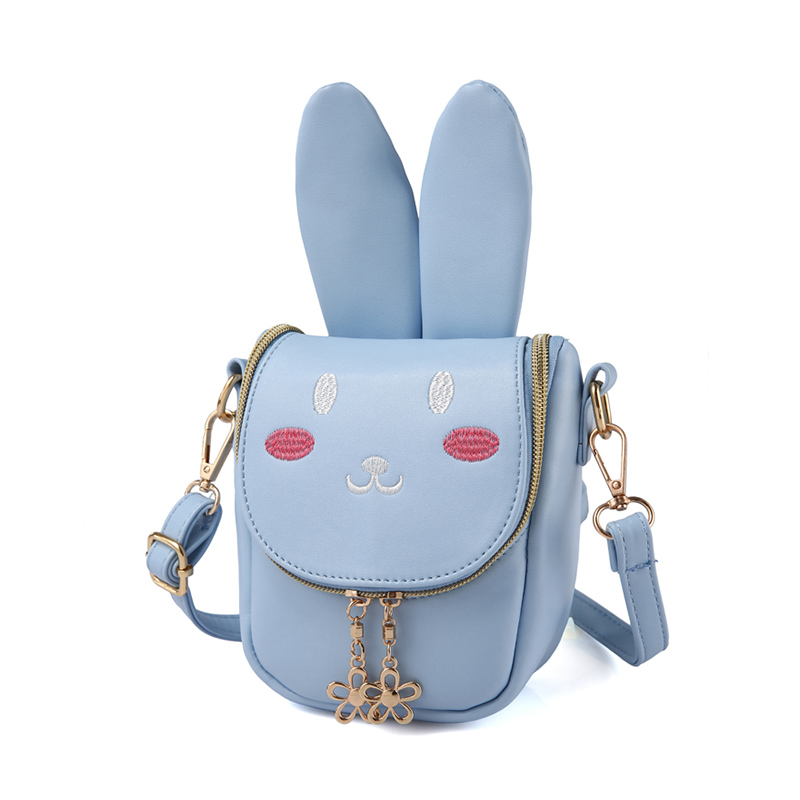 2018 Neue Frauen Tasche Kinder Mädchen Crossbody-tasche Zipper Messenger Tasche Cute Bunny Langlebig Paket Damen Pu Leder Handtasche Bolsas
