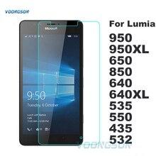 VOONGSON Экран Из Закаленного Стекла Для Microsoft Nokia Lumia 640 640XL 950 950XL 530 650 550 535 532 435 630 Премиум Протектор Фильм