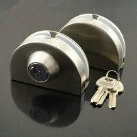 Two door glass anti theft lock