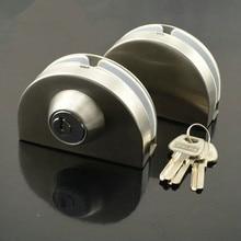 Two-door glass anti-theft lock