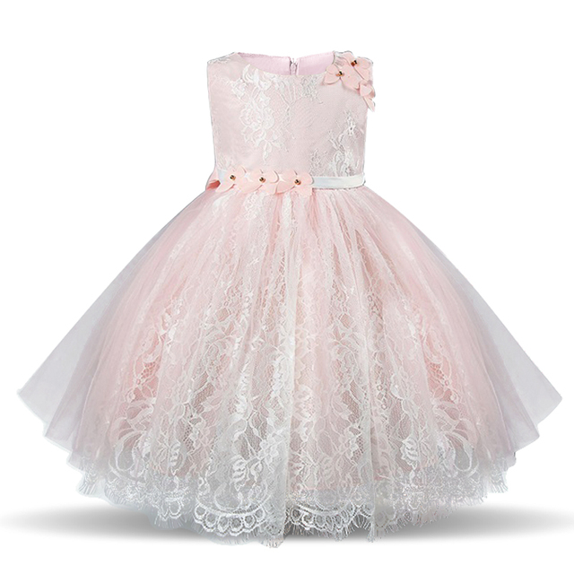 760da03fa49d Summer Sleeveless Girl Lace Dress For Wedding Floral Kids Birthday Layer  Dresses New Designer Princess Gown Teenage Girl Clothes