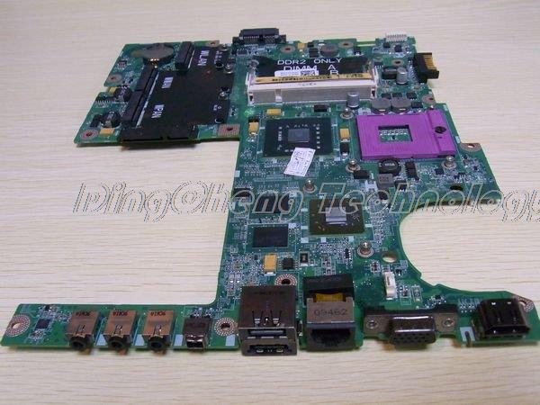 SHELI laptop Motherboard for dell studio 1555 0D177M CN-0D177M for intel cpu with 4 video chips non-integrated graphics card