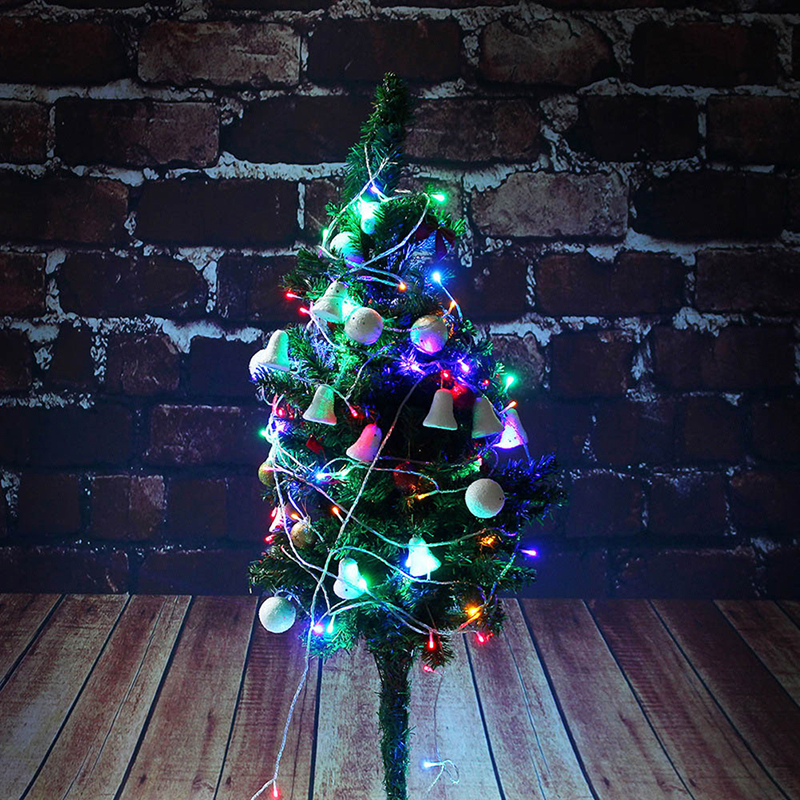 Home & Garden 10m Led String Christmas Decoration Light Light Wedding Garland Led Lamps Christmas Tree Ornaments Decor Bright And Translucent In Appearance Festive & Party Supplies