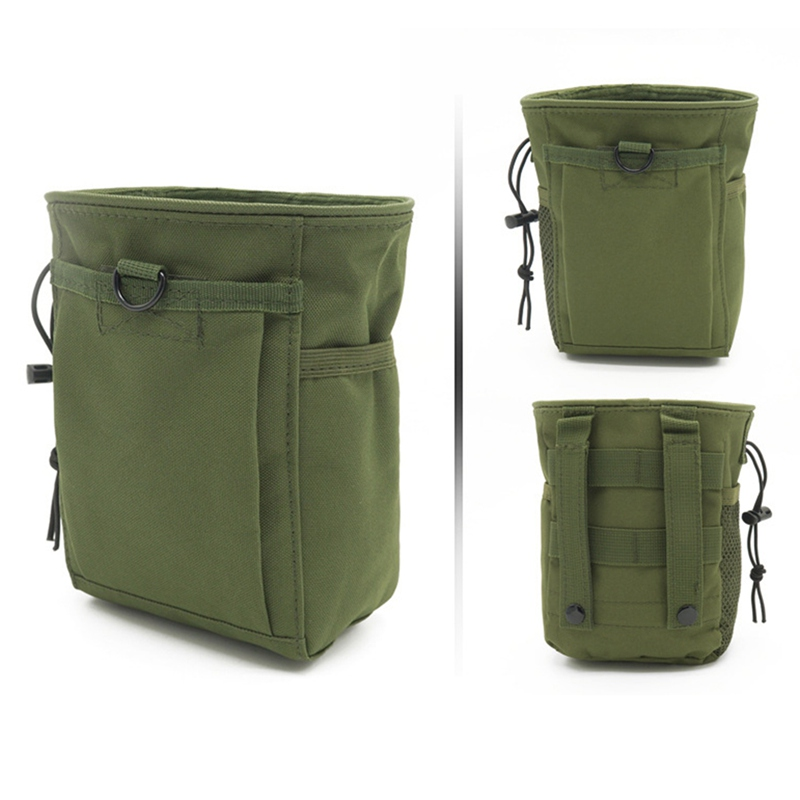 Outdoor Ammo Pouch Pack Tactical Gun Magazine Dump Drop Reloader Pouch Bag Utility Hunting Rifle Magazine Pouch