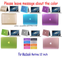 Matte Case For Apple Macbook Air Pro Retina 11 12 13 15 Laptop Bag Sleeve Notbook