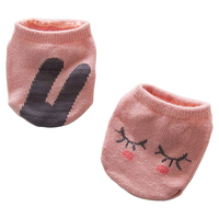 HOT SALE KACAKID Baby Girls Boys Cute Cartoon Socks Newborn Infant Cotton Socks pink M