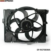 Радиатор охлаждения вентиляторов для 08 10 BMW 128i 325i 328i Z4 330i 330Xi N52 (подходит: более чем одного транспортного средства) EP RCFSE90A