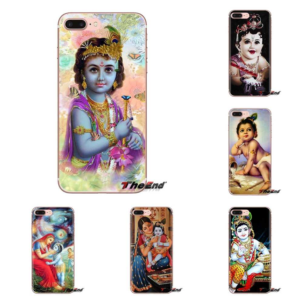 Transparent Soft Case Cover Indian Lord Radha Baby Krishna For Ipod Touch Apple Iphone 4 4s 5 5s Se 5c 6 6s 7 8 X Xr Xs Plus Max Aliexpress