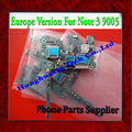 Envío libre de dhl desbloqueado versión europa placa base placa madre para samsung galaxy note 3 n9005 con chip, 100% original