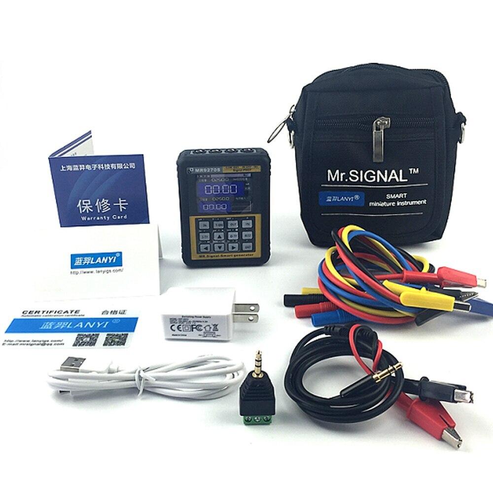 4-20mA générateur de Signal calibrage tension de courant Thermocouple transmetteur de pression enregistreur générateur de fréquence IPS HD affichage - 6