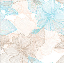 Tela de impressão digital da tela 50cm da camada do ar do fio de eugene do chiffon do esboço do açúcar de leo & lin