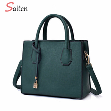Fashion Litchi Pattern Leather Women Handbags Casual Female Messenger Bags For Women Tote Bags Classic Ladies Crossbody Bags Hot fashion genuine leather female designer designer handbags simple fashion litchi pattern calfskin women messenger bags