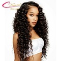 Density 150% Curly Human Hair Full Lace Wigs Malaysian Virgin Hair Glueless Curly Lace Front Wig For Black Women With Baby Hair