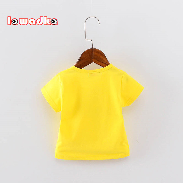 Striped Baby short sleeve t-shirts