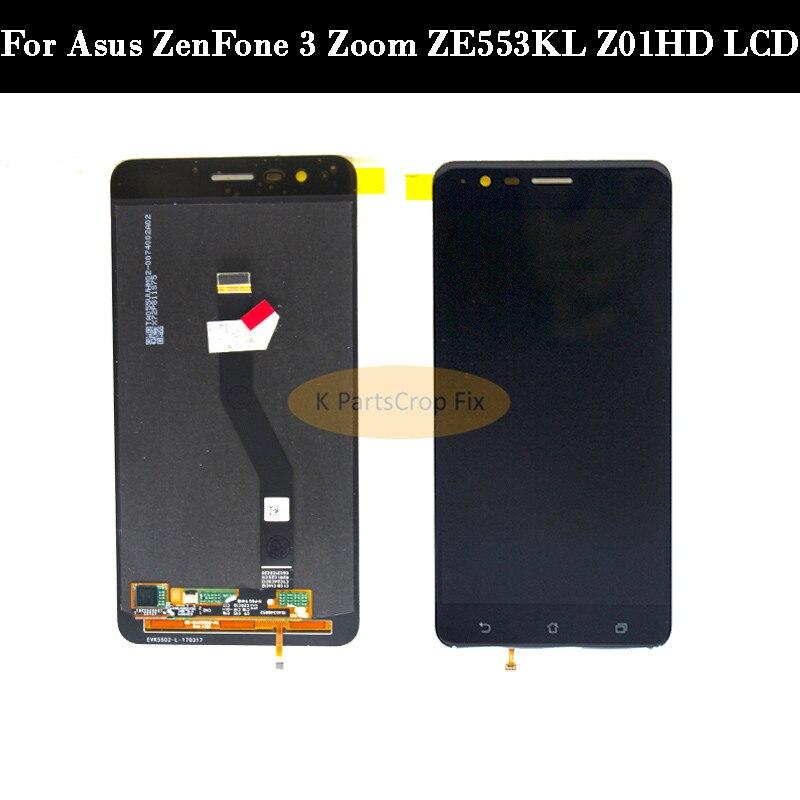 5 5 For Zenfone 3 Zoom ZE553KL LCD 1920x1820 Display For ASUS ZenFone 3 Zoom ZE553KL