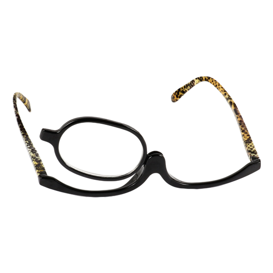 Hot Selling Fashion Women Cosmetic Glasses Making Up Reading Glasses Makeup Glasses Rotatable Frame Ladies Reading Glass