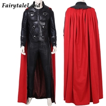 Thor Odinson Costume Marvel Superhero Cosplay Avengers Infinity War Outfit Adult Men Thor Whole Suit Boots Custom Made