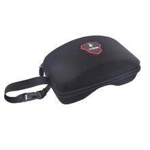 Жесткий EVA лыжные очки Чехол для сноуборда очки коробка с вешалкой лыжные очки Защита 10 см* 20 см без лыжных очков