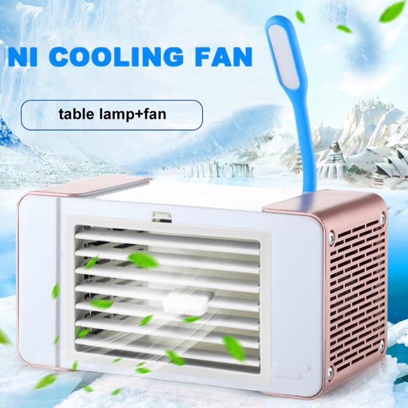 Liberal 3 In 1 Luftkühler Mini Fan Ventilador Klimaanlage Led Licht Luftbefeuchter Luftreiniger 2 Usb Port Aire Acondicionado Portatil Klimaanlagen