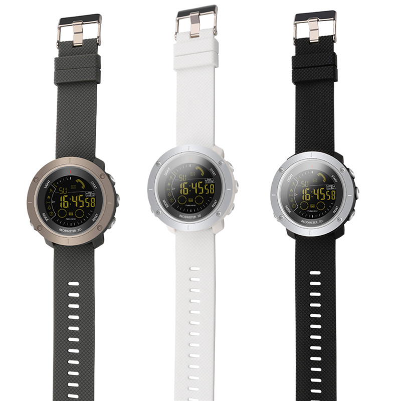 SOONHUA Bluetooth 4.0 Waterpoof Smartwatch Pedometer Wristwatch Stopwatch Sport <font><b>Smart</b></font> <font><b>Watch</b></font> For IOS Android VS <font><b>EX18</b></font> EX36 EX16 image