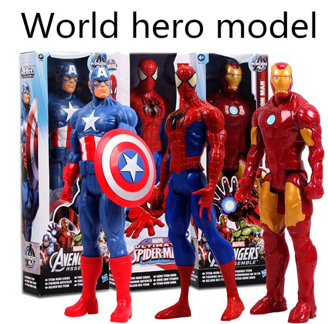 US $21 99 |Classic character models! Foreign trade cartoon hero doll toy,  collectors edition toys, free shipping-in Dolls from Toys & Hobbies on