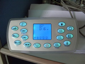 Image 2 - KL8 3 spa keypad with white lock backside, hot tub controller panel fit LX heater for JAZZI,J&J,SERVE,kingston,monalisa,mesda