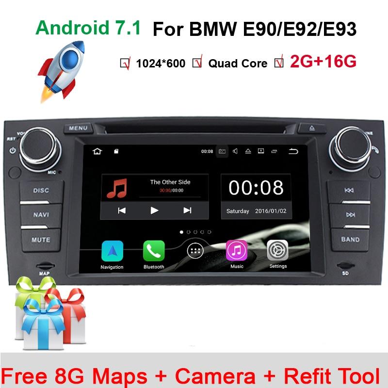 1024 600 quad core car dvd navigation for bmw e90 android. Black Bedroom Furniture Sets. Home Design Ideas