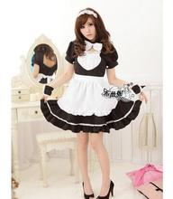 Hot sales! Maid Costume Sweet Gothic Lolita Dress Anime Cosplay Uniform Costumes For Women