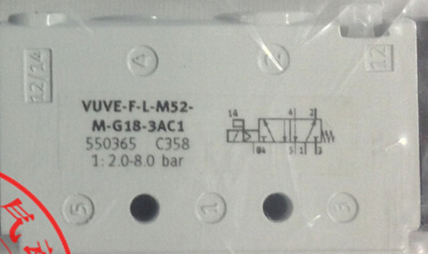 VUVE-F-L-M52-M-G18-3AC1 550365 solenoid valves  body  FESTO without Coil free shipping cpe14 m1bh 5j 1 8 196939 solenoid valves body festo without coil free shipping