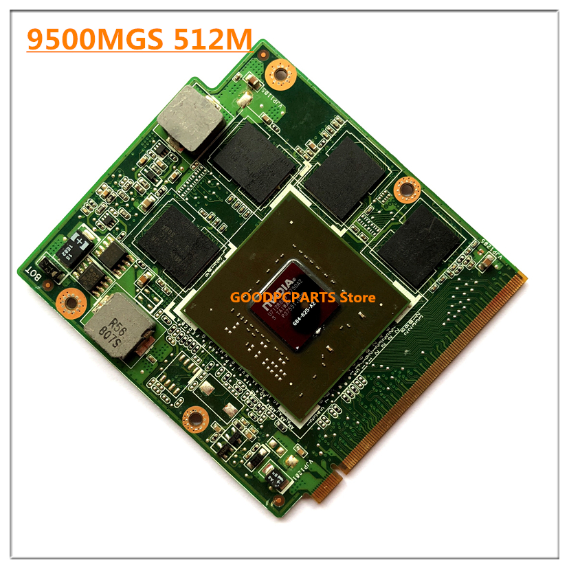 F8 NB8P 08G2041NV20I 9500M GS 9500MGS 512MB G84 625 A2 VGA Video card for A S U S X55S X55SV X56S F8 F8S F8SN M50SV F8SV