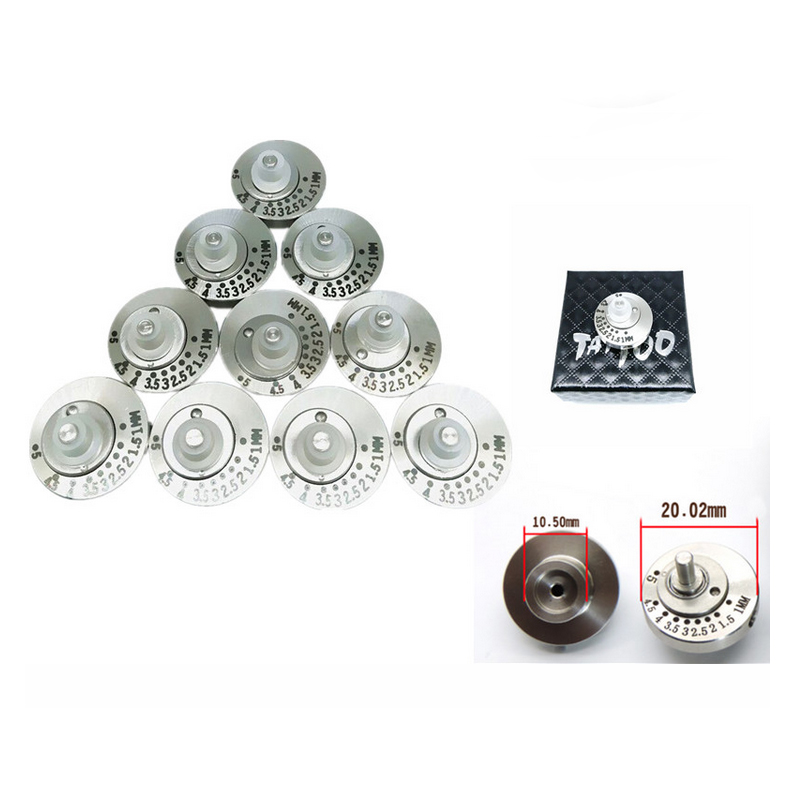 1pcs Stainless Steel Cam Wheel Bearing Tattoo Machine Part Accessories Electronic Wheel For Tattoo Machine
