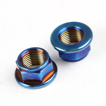 Electric Motorcycle 304 Stainless Steel M16 Nuts Outside Hexagonal Screw Cap For 10 inch motor