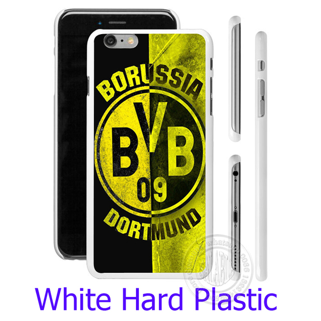 Borussia Dortmund BVB Proof Black Phone Case for iPhone 5S 5 SE 5C 4 4S 6 6S 7 Plus Cover (  Soft TPU / Plastic for Choice )